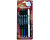 CD/DVD 4 Permanent Marker Set and Eraser
