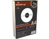 Étiquettes pour CD/DVD 118/41 mm, 100 pièces sur 50 feuilles