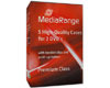 MediaRange Boîtier DVD (14mm, noir) pour 3 DVD, 5 pièces