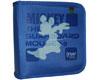 Portefeuille pour 40 CDs, Motif Disney Mickey - SurfBoard Mouse