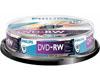 Philips DVD-RW 4x, 10 pièces en cakebox
