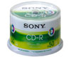 Sony CD-R imprimable, 48x, 50 pièces en cake box