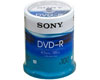 Sony DVD-R 16x certified, cake 100