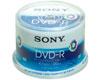 Sony DVD-R 16x imprimable, 50 pièces en cakebox
