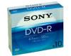 DVD-R 16x, 10 pièces en slimcase