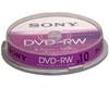 DVD-RW 2x certifié, 10 pièces en cake box