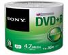 Sony DVD+R 16x certifié, 50 pièces en shrink