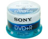 DVD+R 16x certifié, 50 pièces en cake box