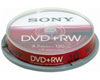 Sony DVD+RW 4.7Gb 10pack cakebox jewelcase 4 speed