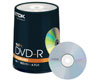 TDK DVD-R 16x, cake 100
