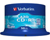 Verbatim CD-R Super Azo, Datalife plus, 52x, 50 pièces en cake box