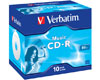 Verbatim CD-R audio 80min, 10 pièces en jewelcase