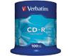 Verbatim CD-R 52x certifié, 100 pièces en cake box
