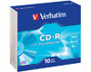 Verbatim CD-R Extra Protection, 52x, 10 pièces en slimcase