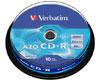 Verbatim CD-R Super Azo, Datalife plus, 52x, 10 pièces en cake box