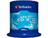 Verbatim CD-R Super Azo, Datalife plus, 52x, 100 pièces en cake box