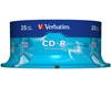 Verbatim CD-R 52x certifié, 25 pièces en cake box