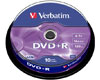 Verbatim DVD+R 16x certifié, 10 pièces en cake box