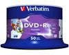 Verbatim DVD+R imprimable 16x certifié, 50 pièces en cake box
