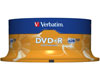 Verbatim DVD-R Matt Silver, 16x certifié, 25 pièces en cake box