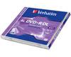 Verbatim DVD+R double couche 8.5 Go 8x certifié, 1 pièce en jewelcase