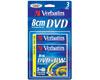 DVD+RW 8cm 1.4 Go 30min 4x, 3 pièces en mini-jewelcase