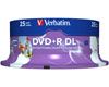 Verbatim DVD+R Double Layer 8x Speed 8,5 GB 25er