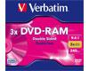 Verbatim DVD-RAM 9.4Go (double face) 3x, Type 4, la pièce